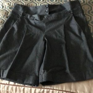 French Connection high waisted Shorts with cuffs